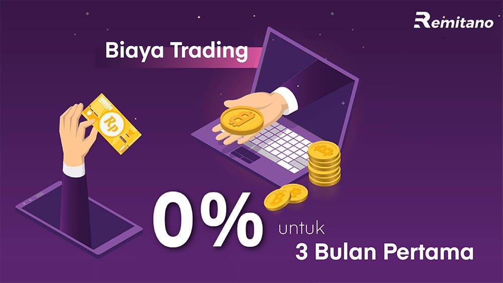 Biaya Trading di Remitano