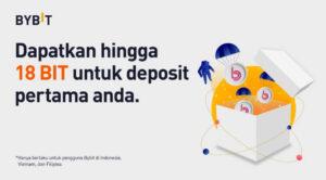 Dapatkan Token BIT dengan Deposit Perdana di Bybit